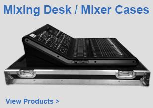 DJ Mixing Desk / Mixer Flight Cases