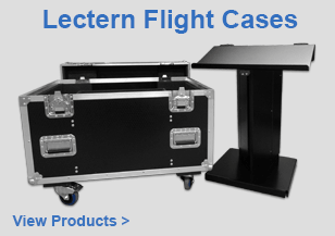 Lectern Flight Cases