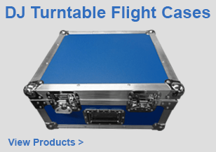 DJ Turntable Flight Cases