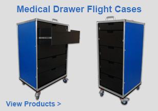 Medical Drawer Flight Cases