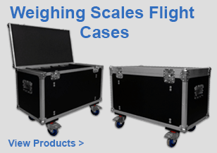 Motor Sports Weighing Scales Flight Cases