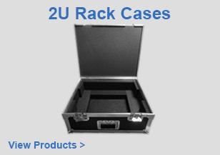 2U Rack Case Flight Cases