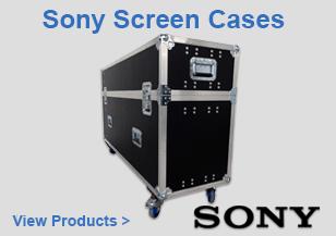 Sony Screen Flight Cases