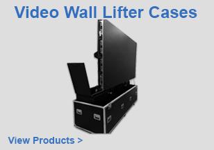 Video Wall Lifter Flight Cases