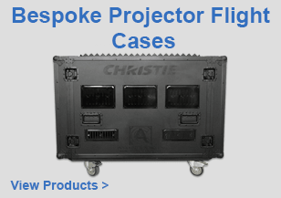 Bespoke Projector Flight Cases