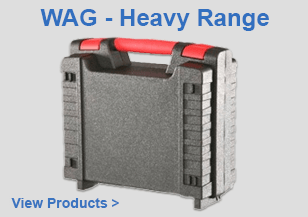 WAG Plastic Cases - Heavy Range