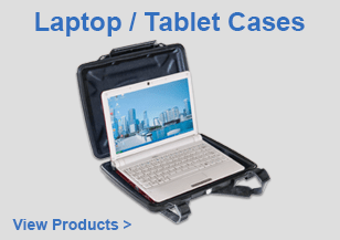 PELI Waterproof Laptop / Tablet Cases