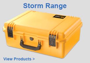 PELI Waterproof Storm Case Range