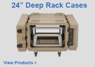 "24"" Deep Rack Cases"