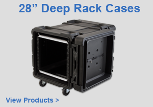 "28"" Deep Rack Cases"