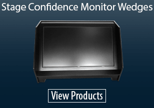 Stage Confidence Monitor Wedges