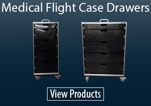 Medical Flight Case Drawers
