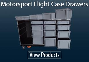 Motorsport Flight Case Drawers