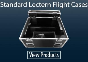Standard Lectern Flight Cases