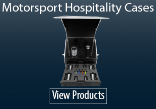 Motorsport Hospitality Flight Cases