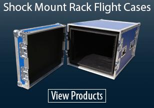 Shock Mount Rack Flight Cases