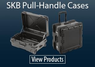 SKB Pull Handle Plastic Cases