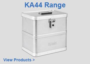 SKB KA44 Aluminium Cases