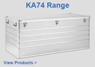 SKB KA74 Aluminium Cases