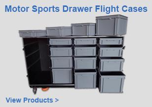 Motor Sports Drawer Flight Cases