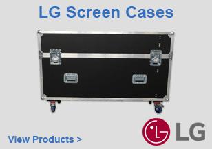 LG Screen Flight Cases