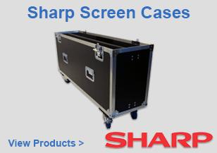 Sharp Screen Flight Cases