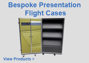 Bespoke Presentation Flight Cases
