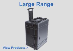 Waterproof Standard Peli Large Range