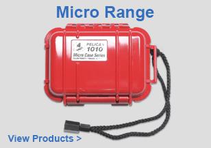 Waterproof Standard Peli Micro Range