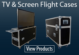 TV & Screen Flight Cases
