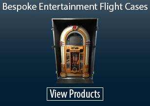 Bespoke Entertainment Flight Cases