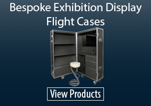 Bespoke Exhibition Display Flight Cases