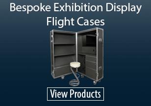 Bespoke Exhibition Display Flight Cases