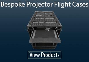 Bespoke Projector Flight Cases