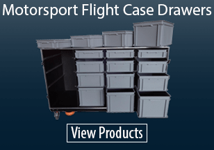 Motorsport Flight Case Drawers