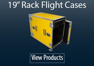 "19"" Rack Flight Cases"