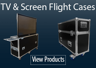 TV Screen Flight Cases