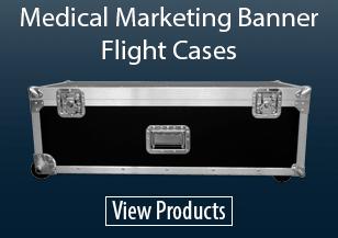 Medical Marketing Banner Flight Cases