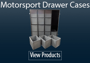 Motorsport Drawer Flight Cases