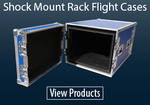 Shock Mount Rack Flight Cases
