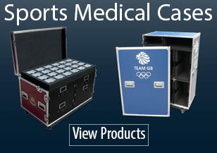 Sports Medical Flight Cases