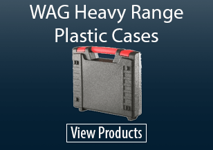 WAG Heavy Range Plastic Cases