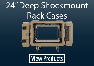 """24"""" SKB Shockmount Rack Cases"""