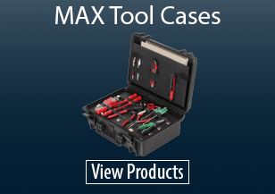 MAX Waterproof Tool Cases