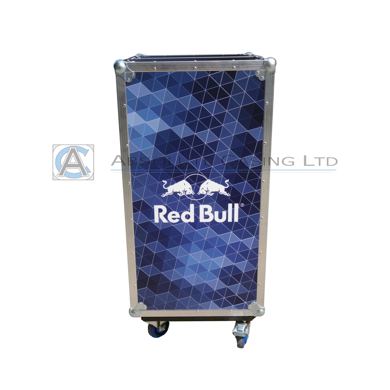 Red Bull Bar Case Drinks Cases Bespoke Flight Cases